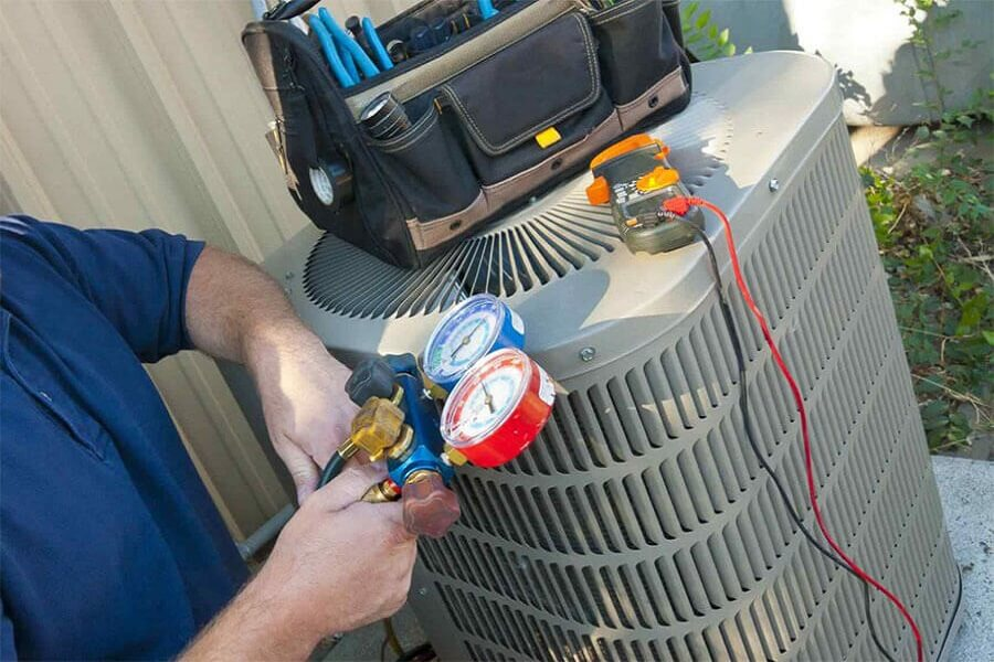 AC Maintenance & Repair - C & C Air Conditioner Repair Dubai