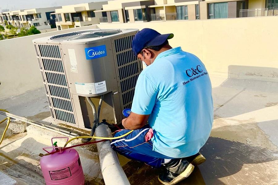 C & C AC Maintenance & AC Fixing in Hills Estate Dubai