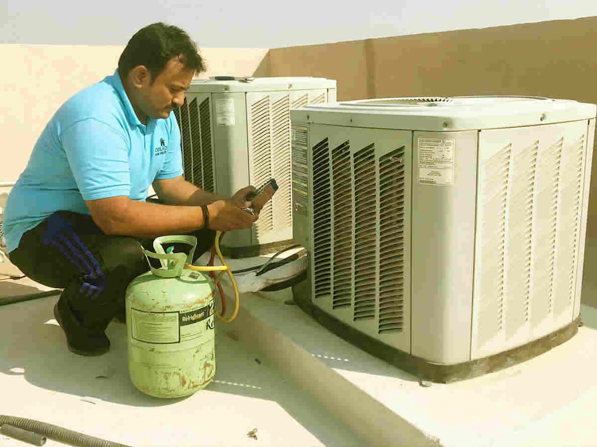 AC Repair and maintenance by C & C technician