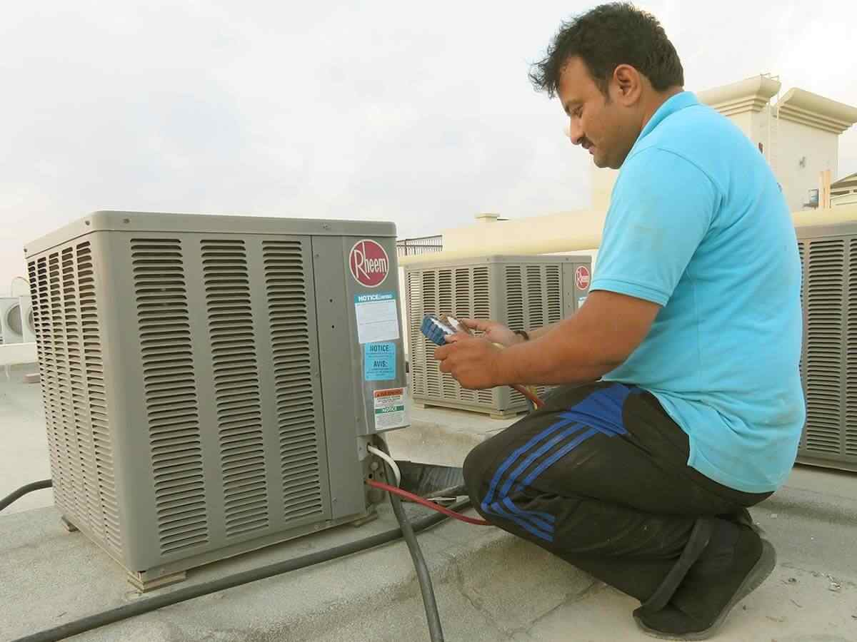 AC Repair, AC Fixing - C & C Home Maintenance Dubai