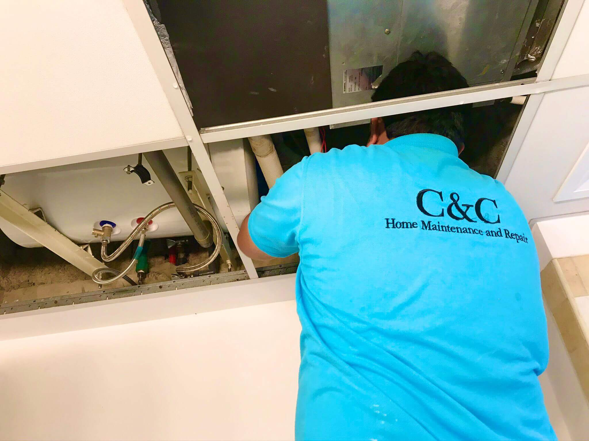 Water Heater Replacement in Arabian Ranches By C & C