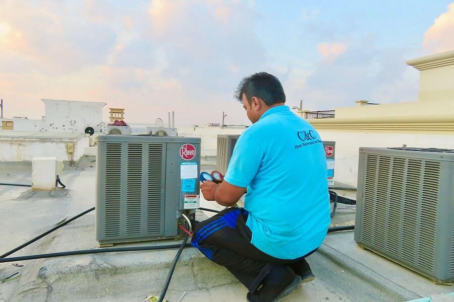 AC Maintenance and AC Repair-C & C AC Repair-AC in -Arabian Ranches 2