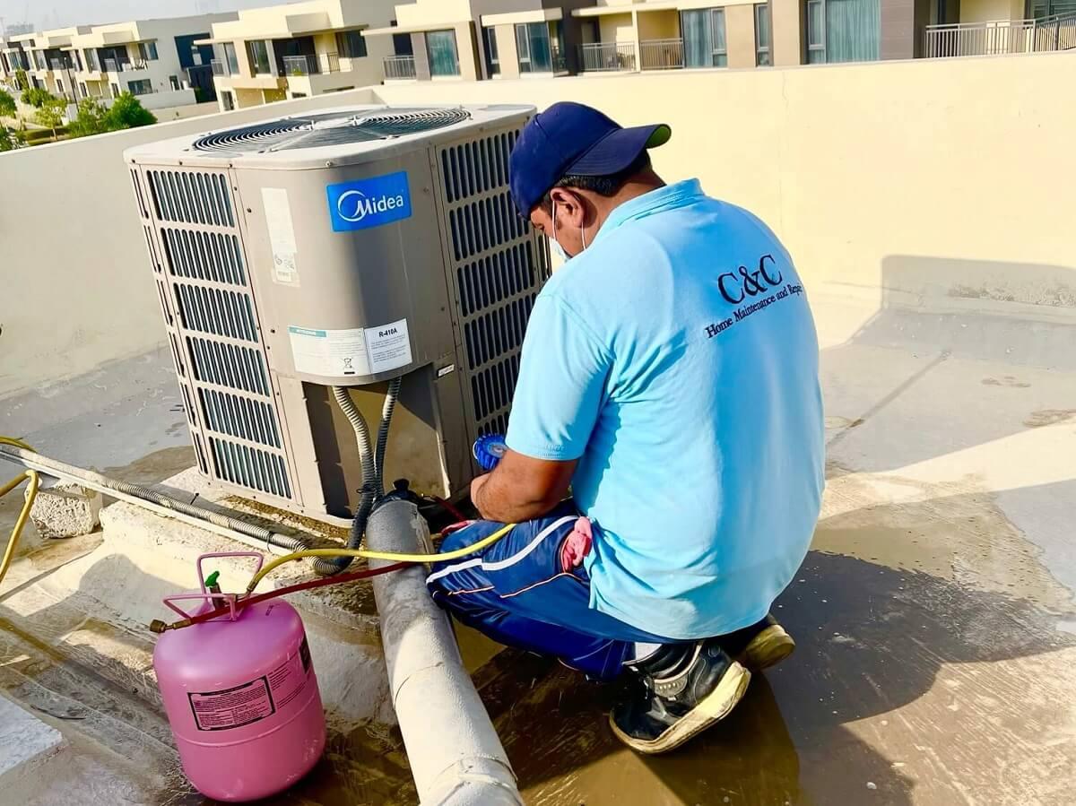 AC-Maintenance-and-AC-Repair-CNC-AC-Technician-Repair-AC-in-Jumeirah Park-Dubai. Air Conditioner RepAC Maintenance and AC Repair. CNC AC Technician Repair AC in Jumeirah Park-Dubai. Air Conditioner Repairair