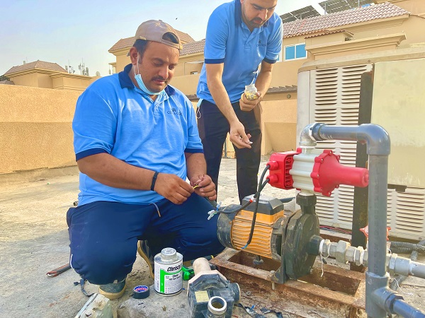 Water Pump Fixing in JVC by C & C Water Pump Repair