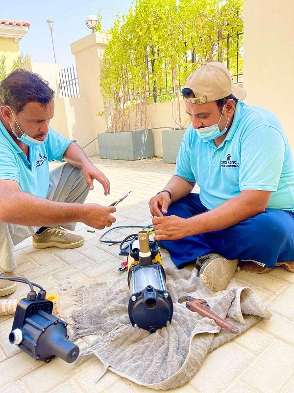 Water Pump Replacement in Jumeirah Park Dubai By C & C Home Repair